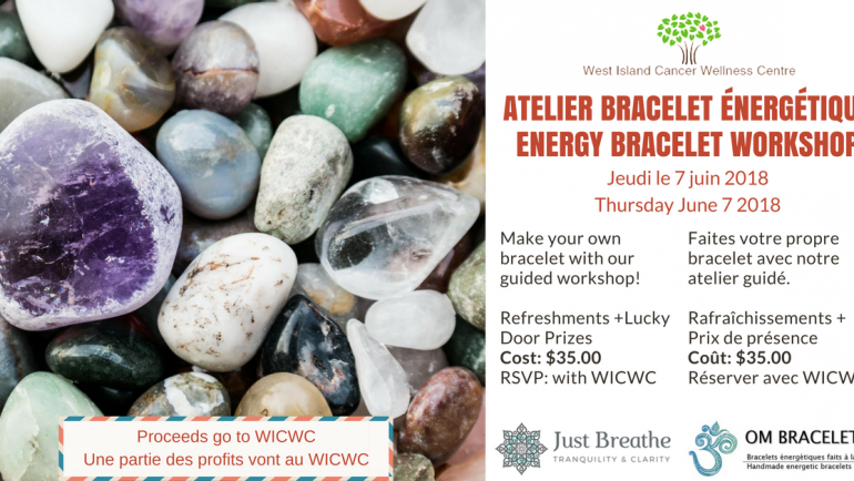 Energy Bracelet Workshop – Atelier bracelet énergétique