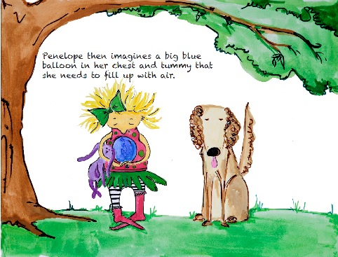 Just Breathe Children's Picture book and Music