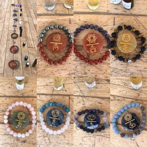 bracelets to harmonize the chakras!